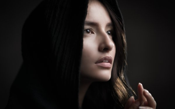 Women Face Model Brown Eyes HD Wallpaper   Background Image