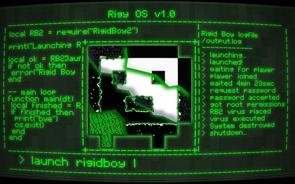 Video Game Rigid Boy Technology Code HD Wallpaper | Background Image