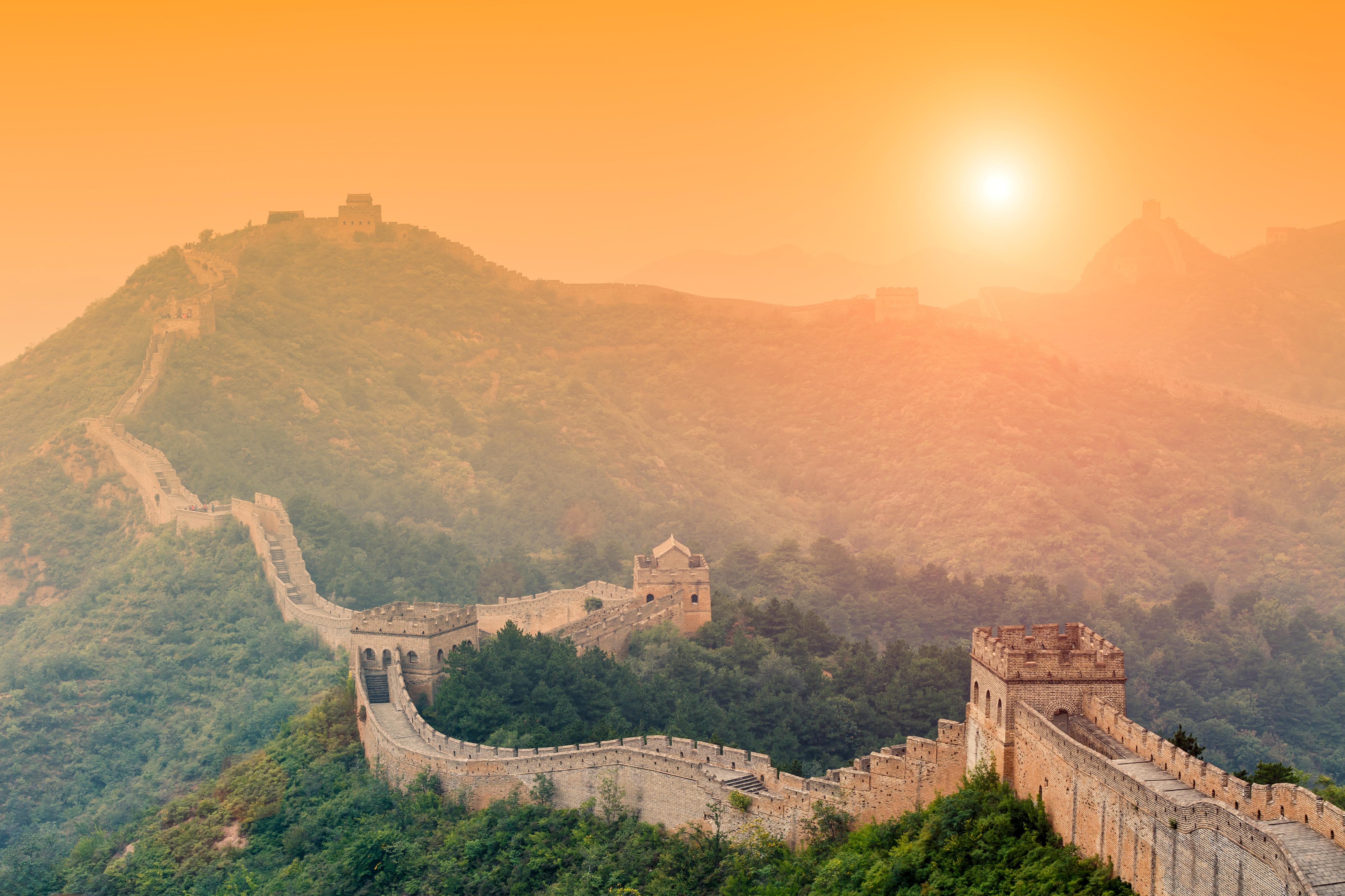 Chinesische Mauer Wallpaper
