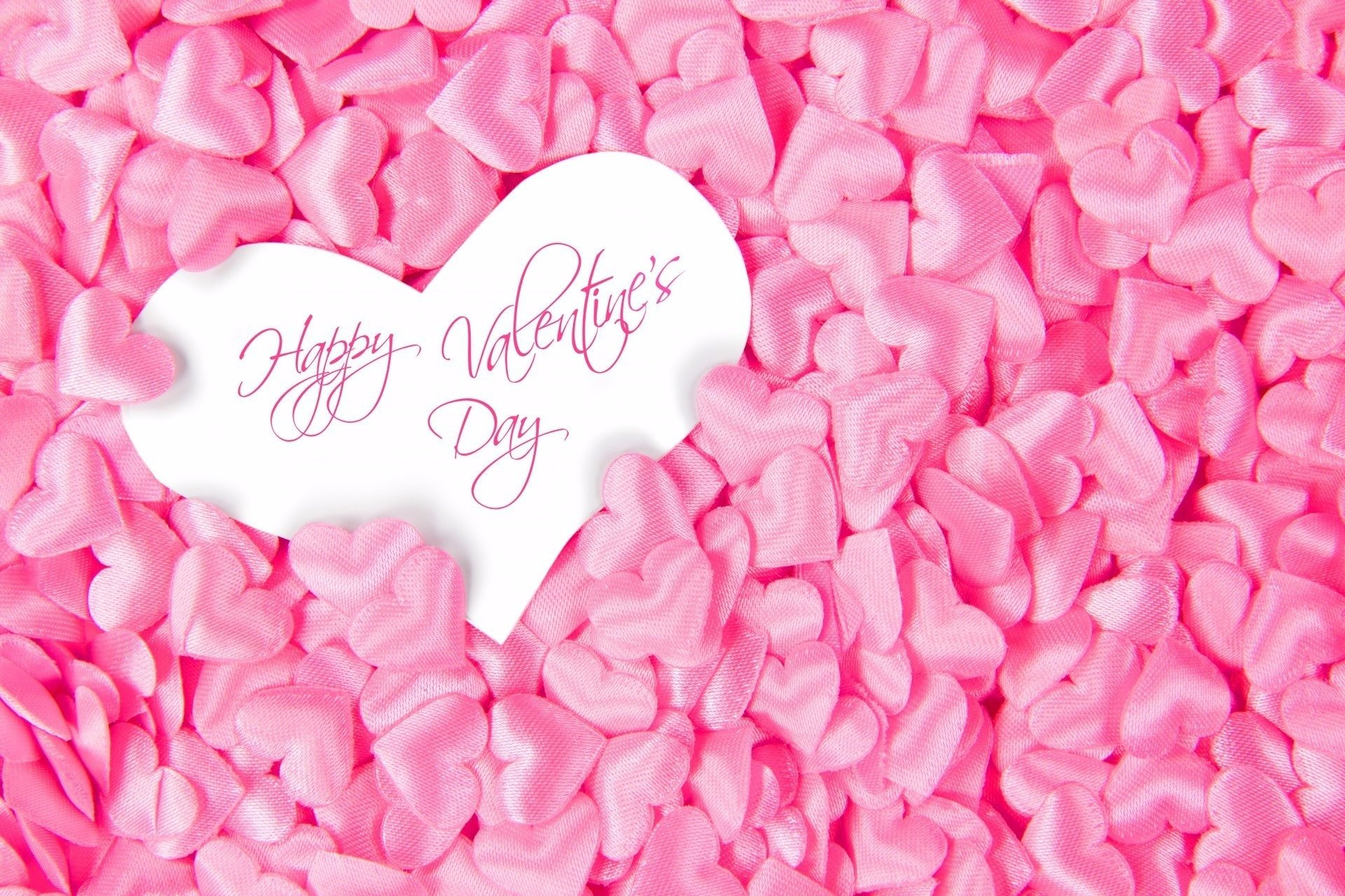Holiday - Valentine's Day  Holiday Heart Pink Happy Valentine's Day Wallpaper