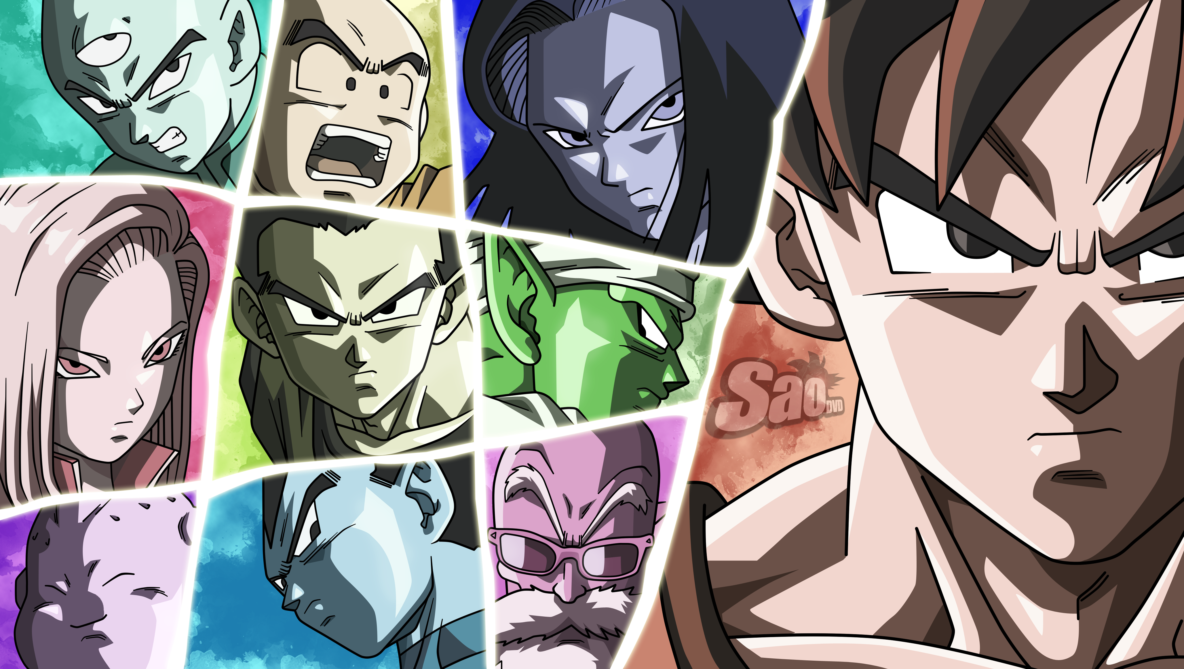 59 Android 17 Dragon Ball Hd Wallpapers Background Images