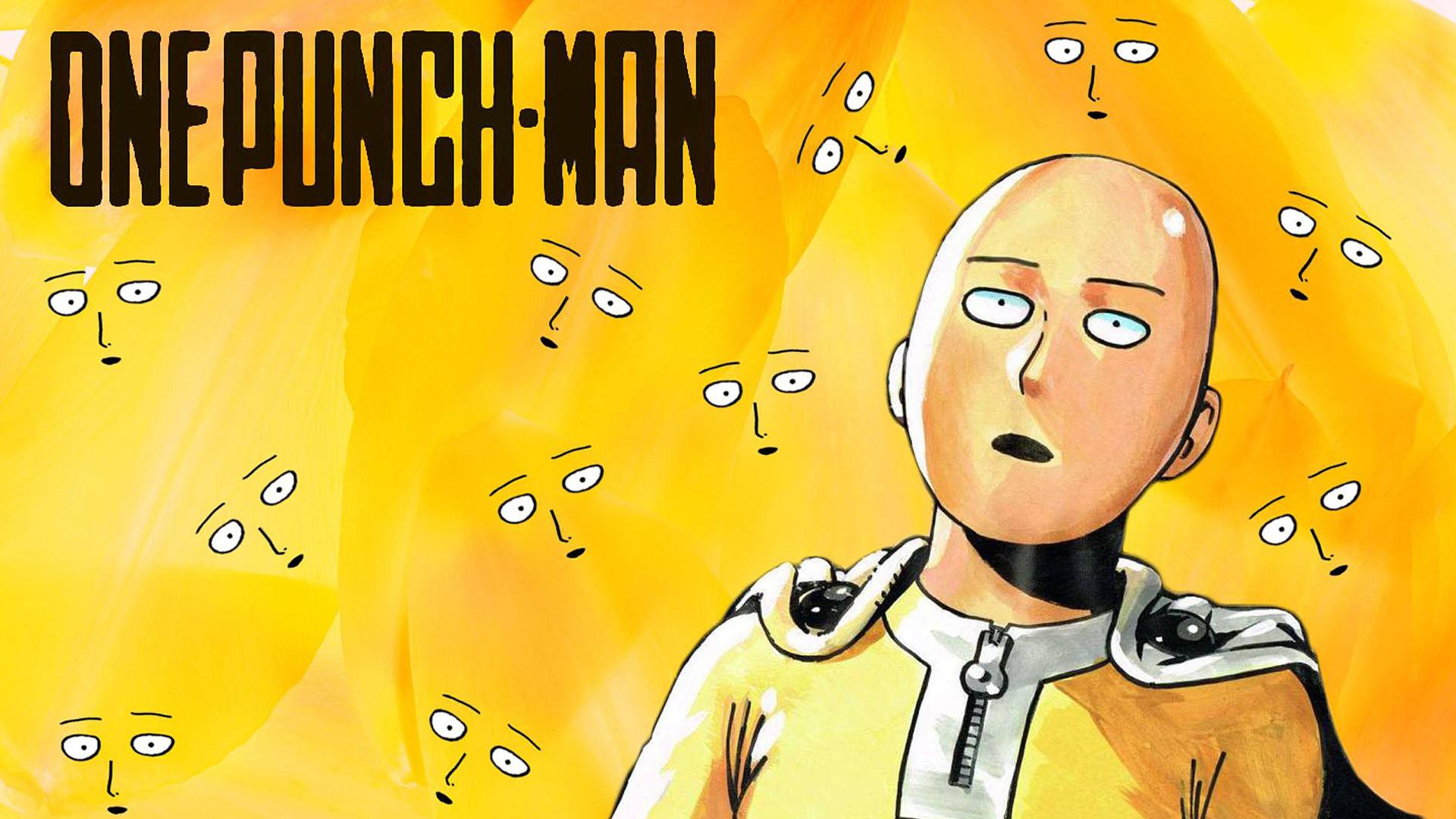 One Punch Man Saitama Face Fondo De Pantalla Hd Fondo De