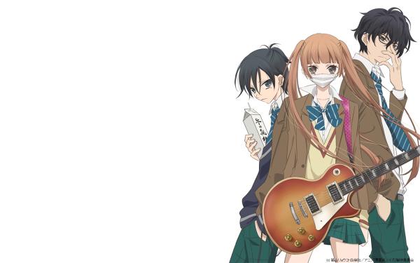 Anime Fukumenkei Noise Nino Arisugawa Kanade Yuzuriha Momo Sakaki HD Wallpaper | Background Image