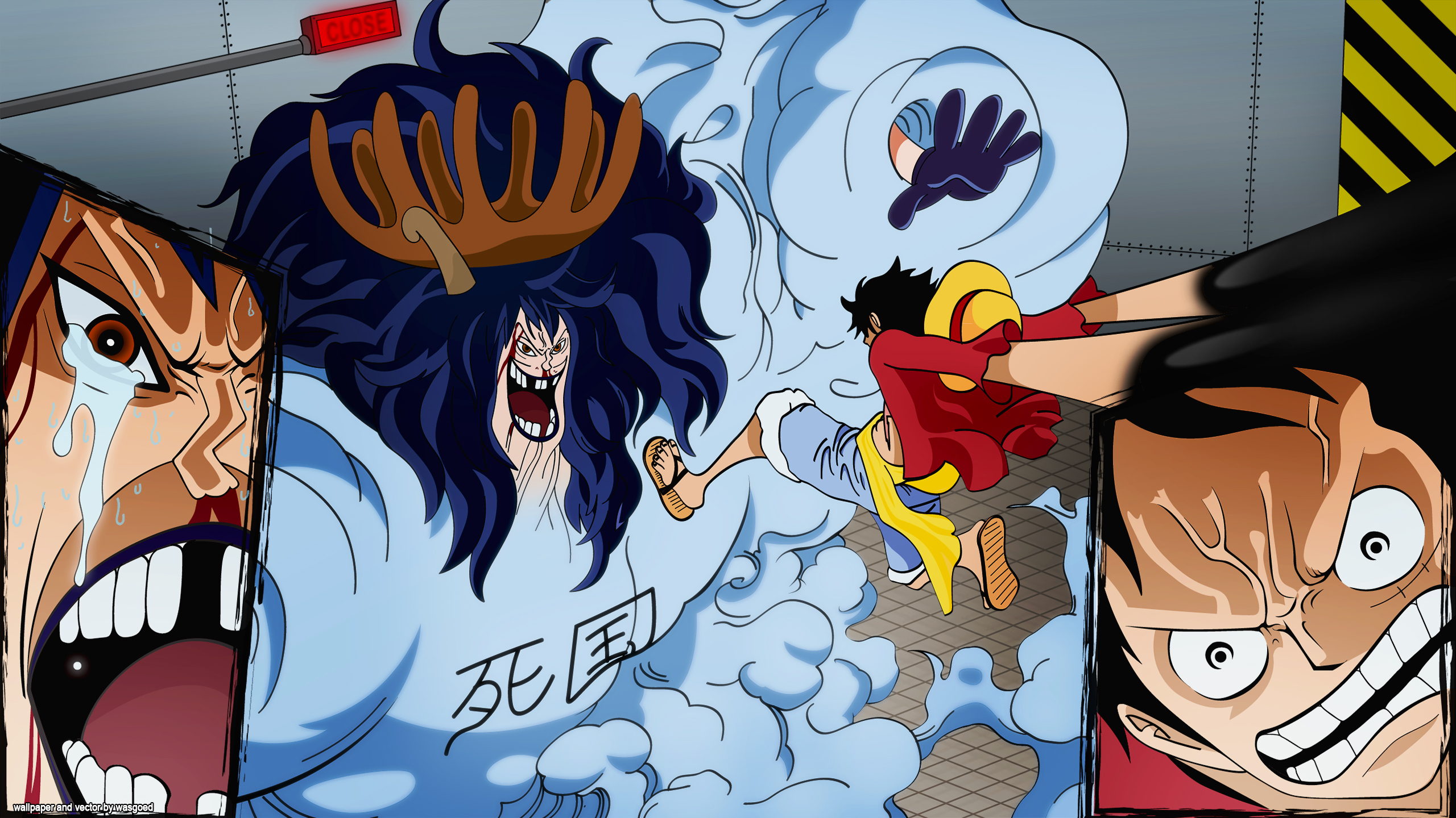 One Piece Hd Wallpaper Background Image 2560x1440 Id 802178 Wallpaper Abyss
