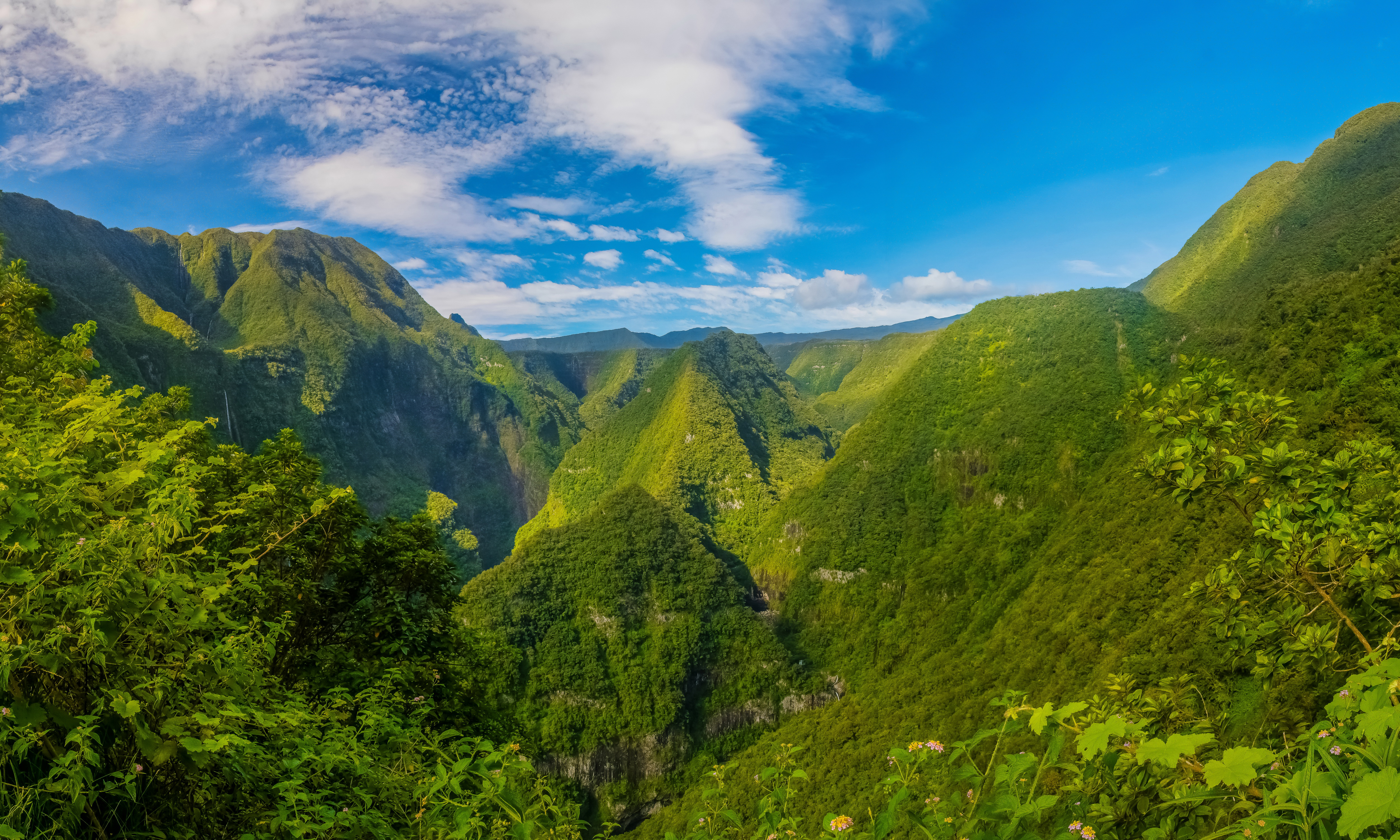 Green Mountains In France 4k Ultra Hd Wallpaper Background