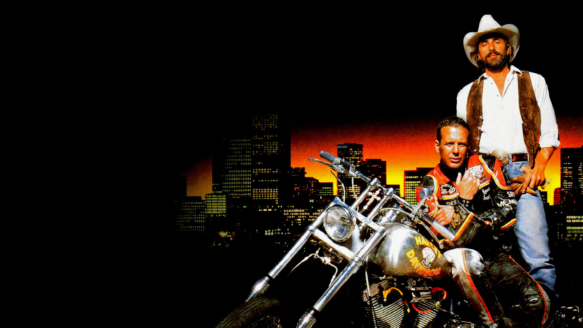 Harley Davidson Movie: Harley Davidson And The Marlboro Man HD Wallpaper