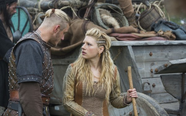 TV Show Vikings Katheryn Winnick Lagertha Bjorn Lothbrok HD Wallpaper | Background Image