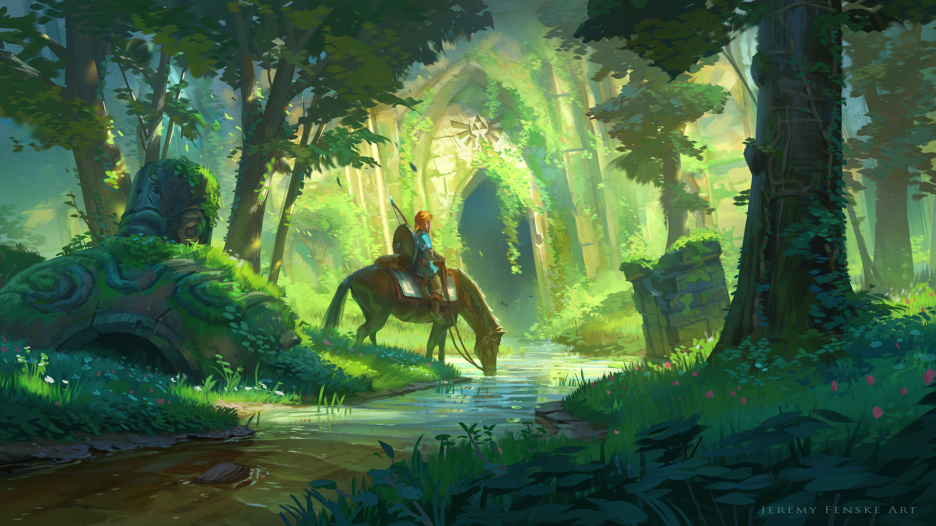 The Legend of Zelda: Breath of the Wild HD Wallpaper | Background Image | 1920x1080 | ID:805656 ...