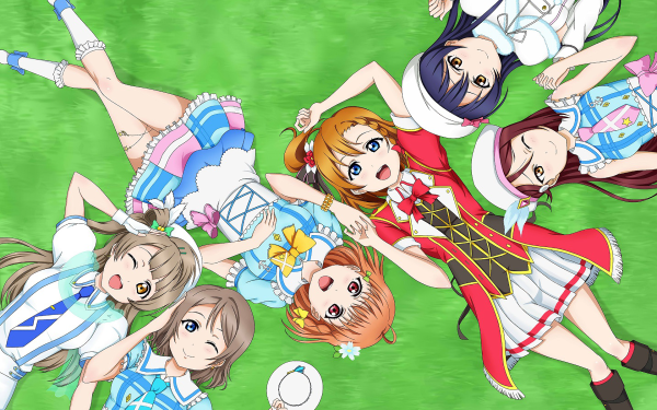 Anime Love Live! Honoka Kousaka Kotori Minami Umi Sonoda Riko Sakurauchi You Watanabe Chika Takami Rabu Raibu Sanshain Fondo de pantalla HD   Fondo de Escritorio