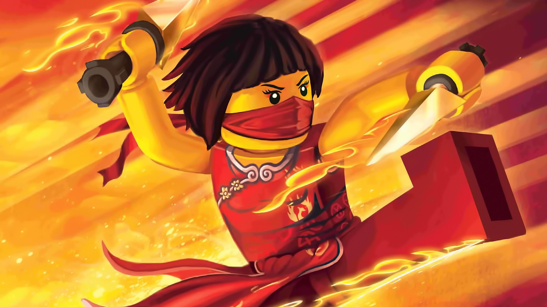 Lego Ninjago Masters Of Spinjitzu Full HD Wallpaper And Background