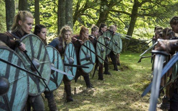 TV Show Vikings Katheryn Winnick Lagertha HD Wallpaper | Background Image