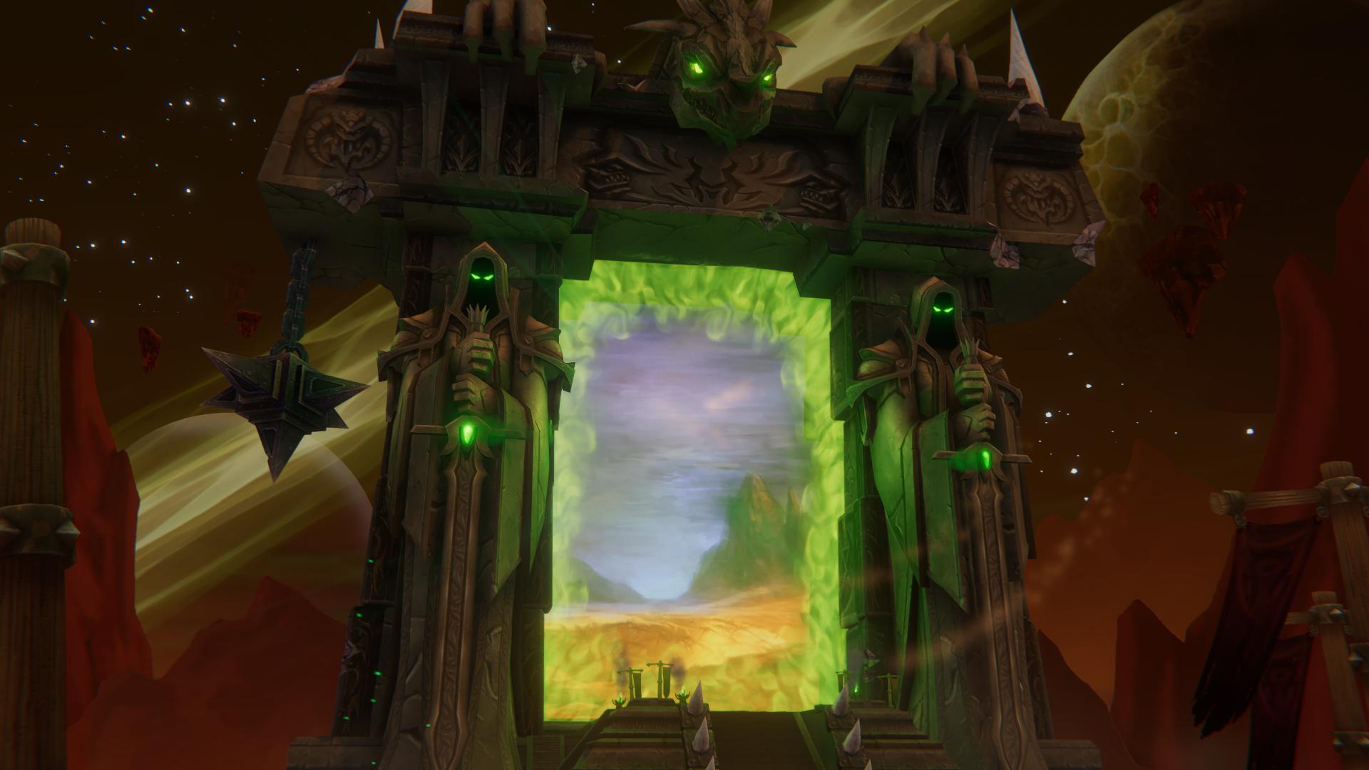 World Of Warcraft The Dark Portal Uhd 4k Wallpaper: Portal To Enchanted World HD Wallpaper