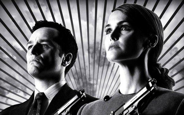 TV Show The Americans Keri Russell Matthew Rhys HD Wallpaper | Background Image