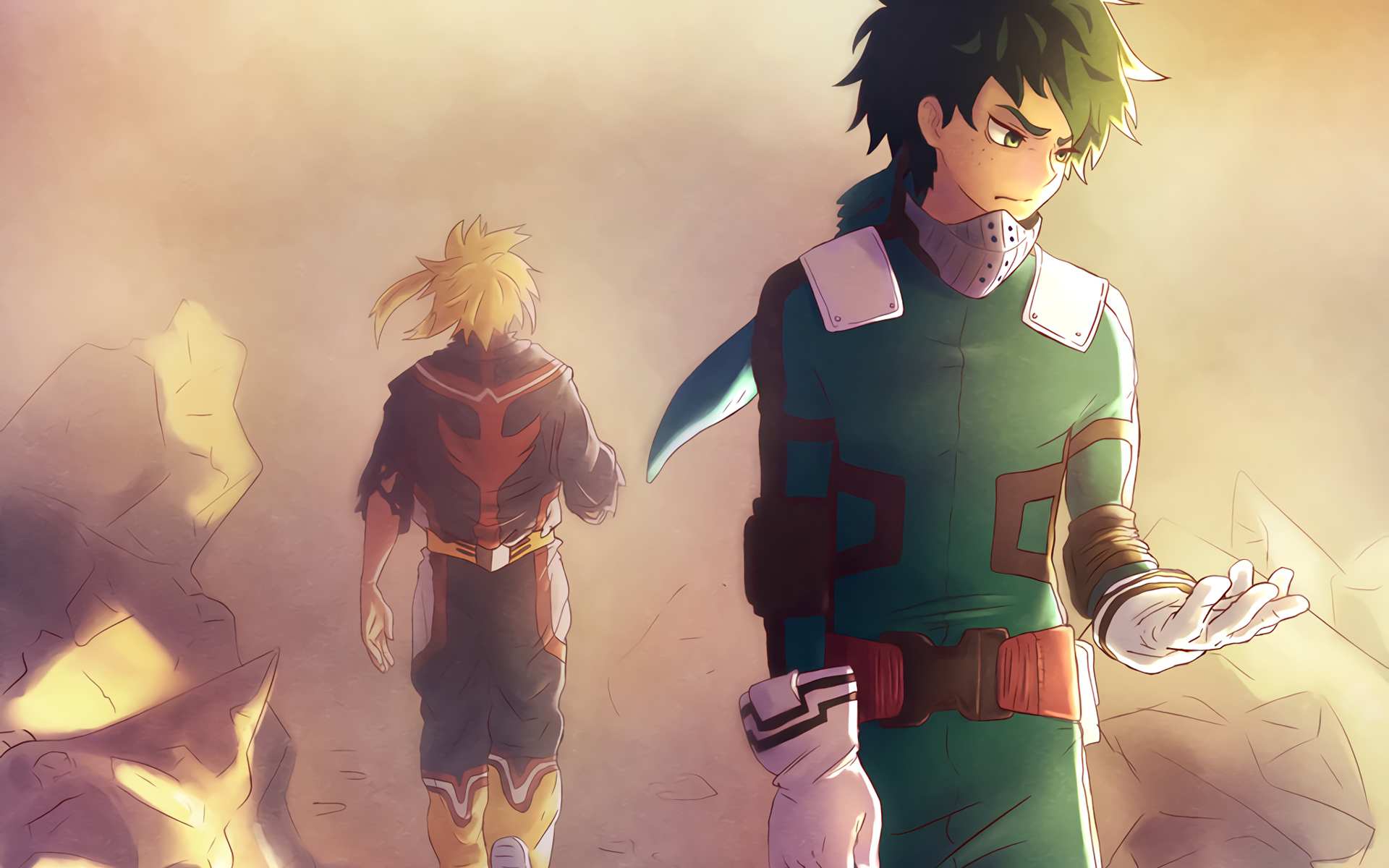 My Hero Academia Hd Wallpaper Background Image 1920x1200 Id 809257 Wallpaper Abyss