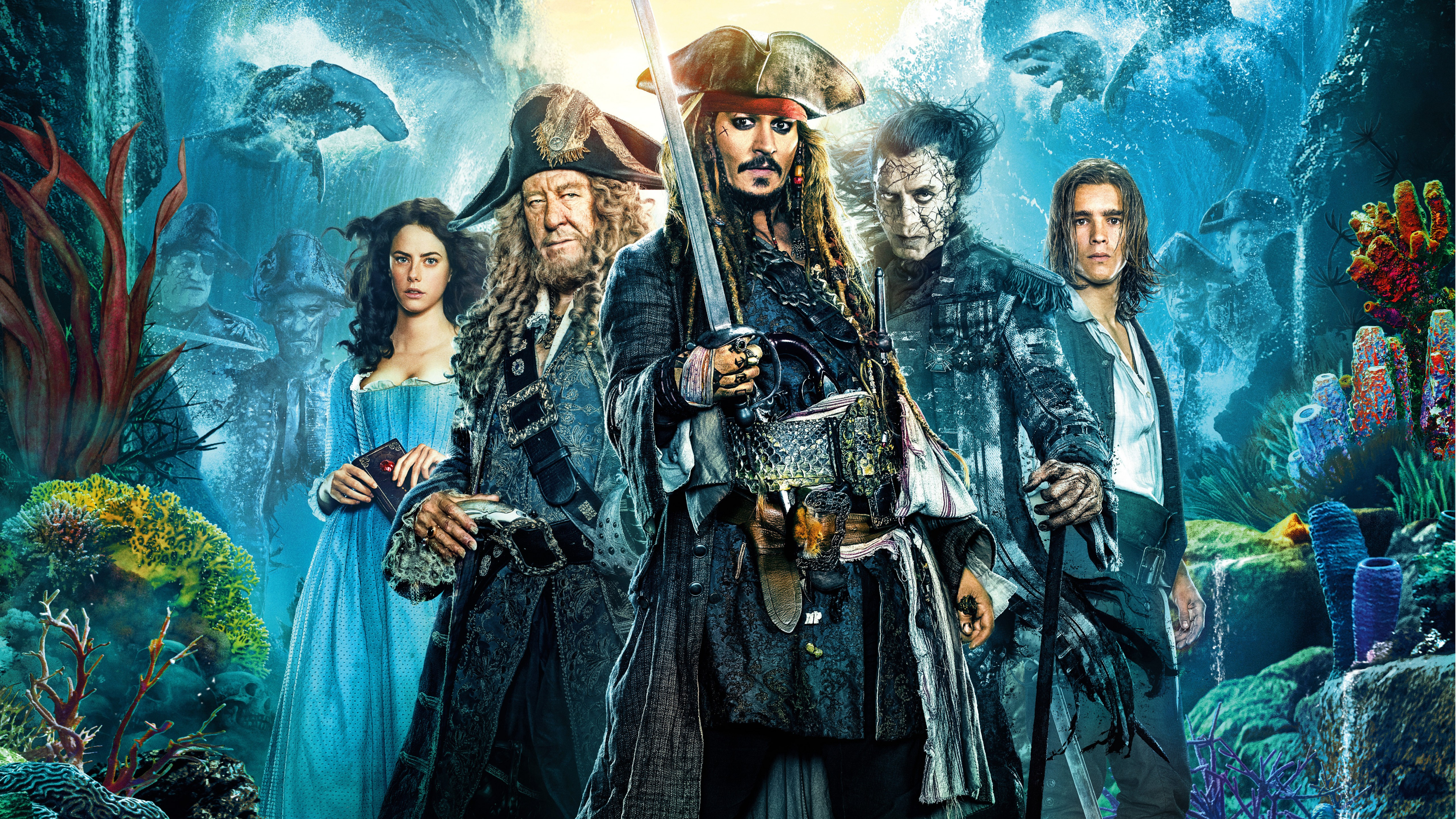 56 Pirates Of The Caribbean Dead Men Tell No Tales Hd Wallpapers