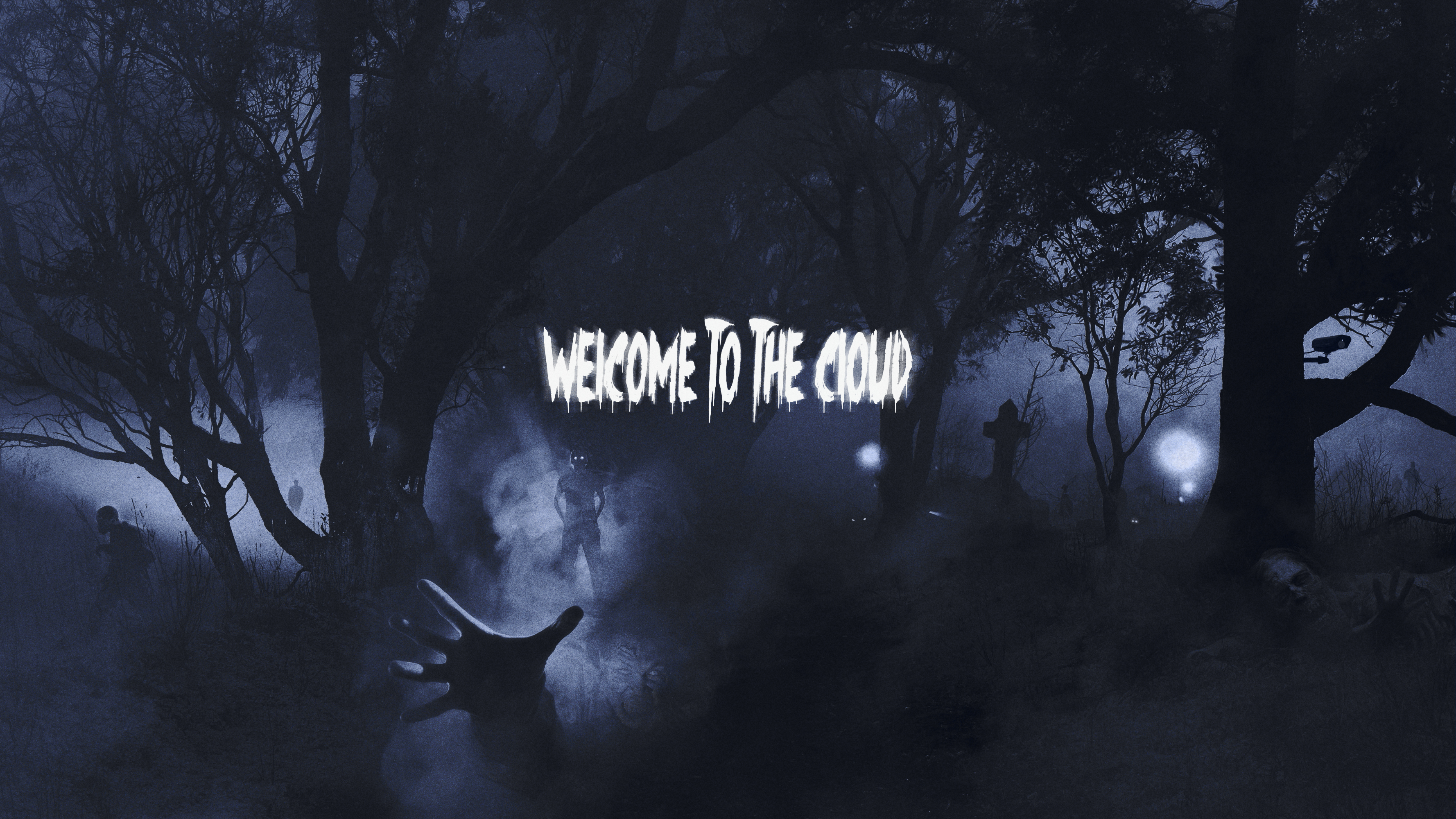 Welcome To The Cloud Computing Fondo De Pantalla Hd Fondo