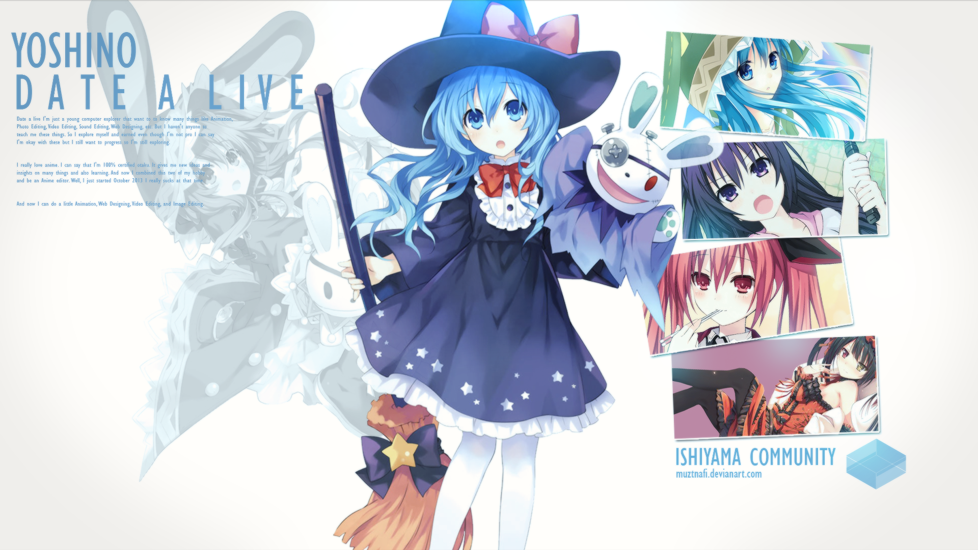 Anime Date A Live Wallpaper