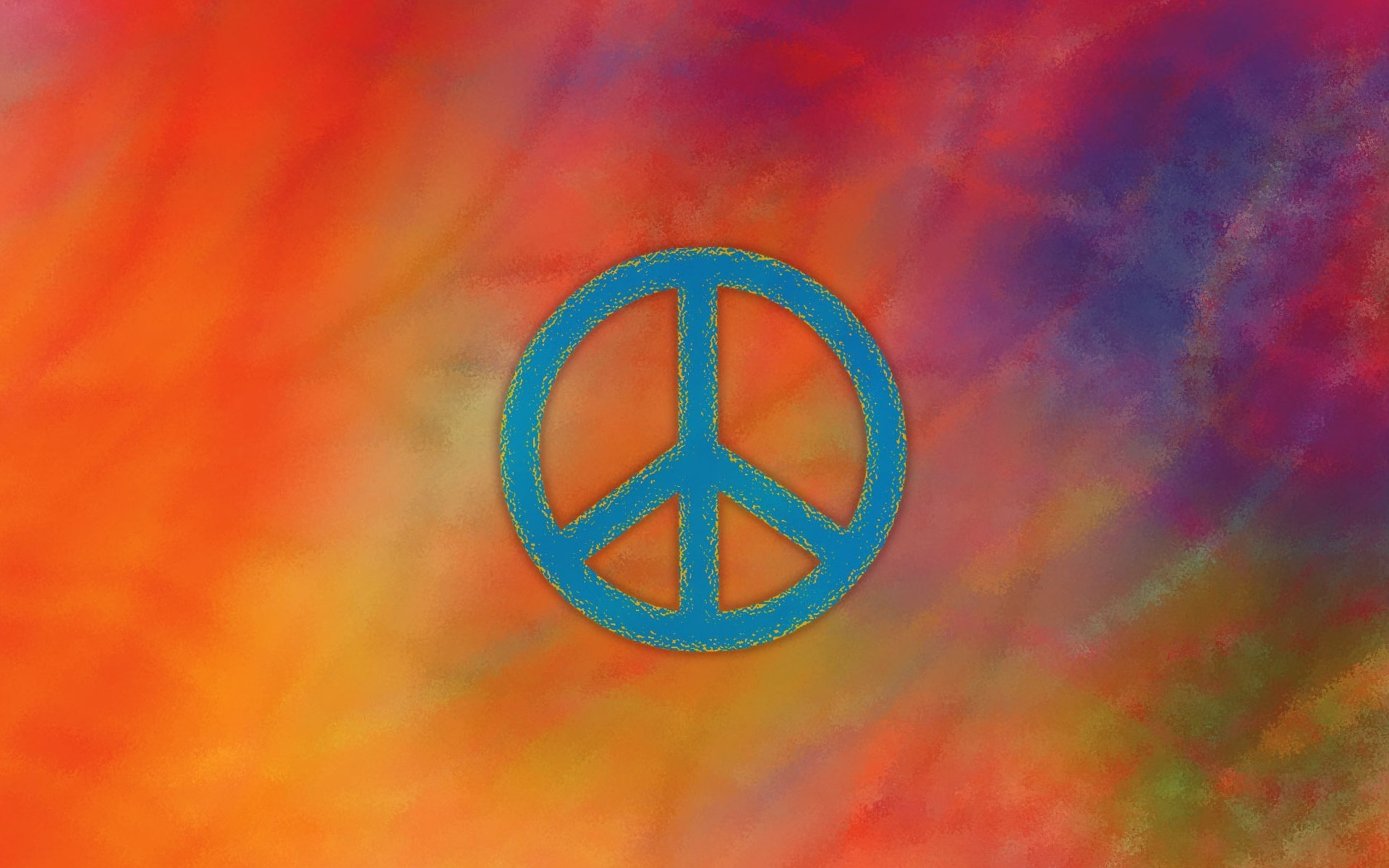 Peace Sign Hd Wallpaper Background Image 1920x1200 Id 813775