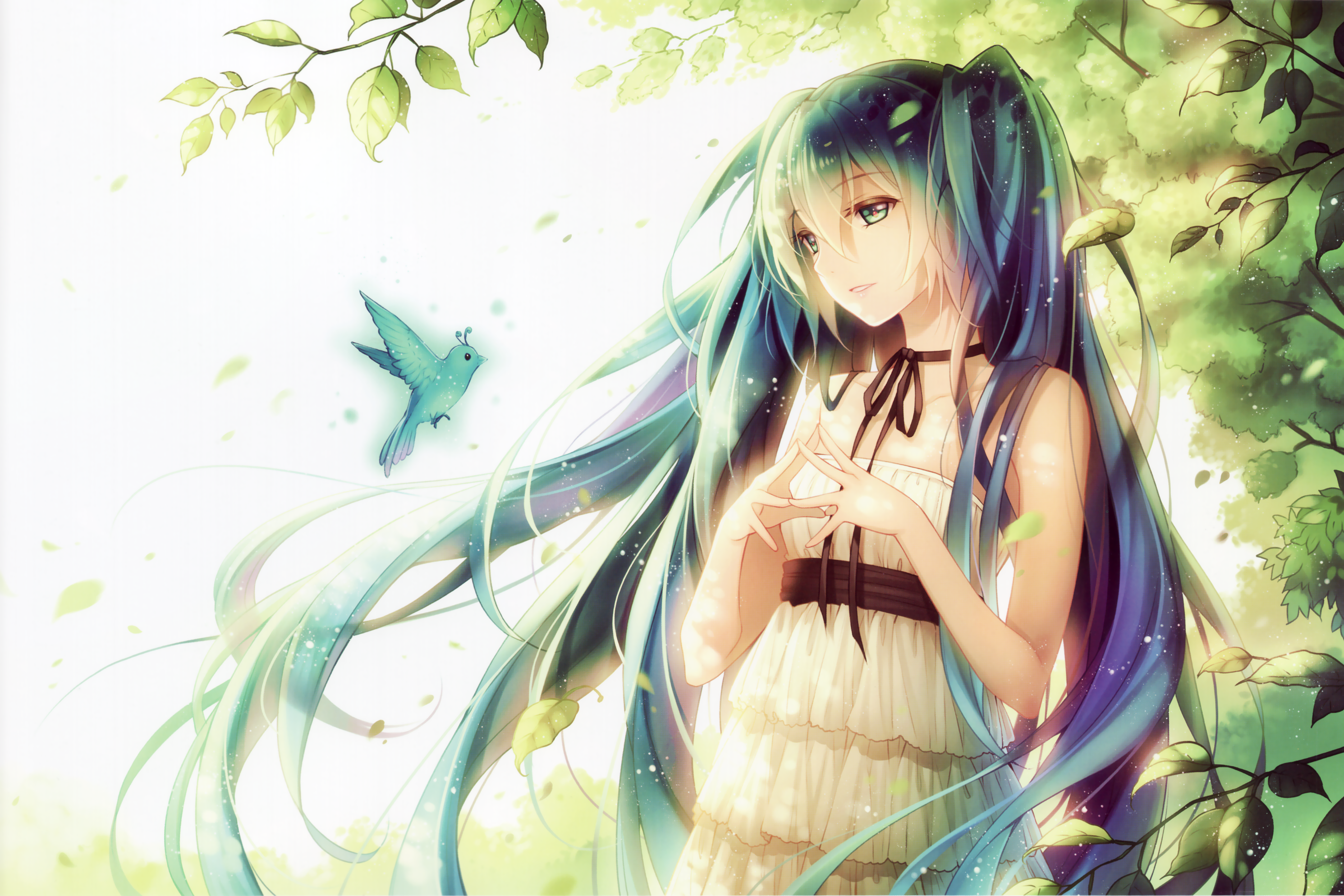 4096 anime girl hd wallpapers | background images - wallpaper abyss