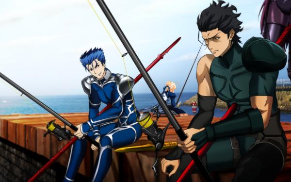 Anime Fate/Grand Order Fate Series Scathach Cu Chulainn Saber Diarmuid Ua Duibhne HD Wallpaper | Background Image