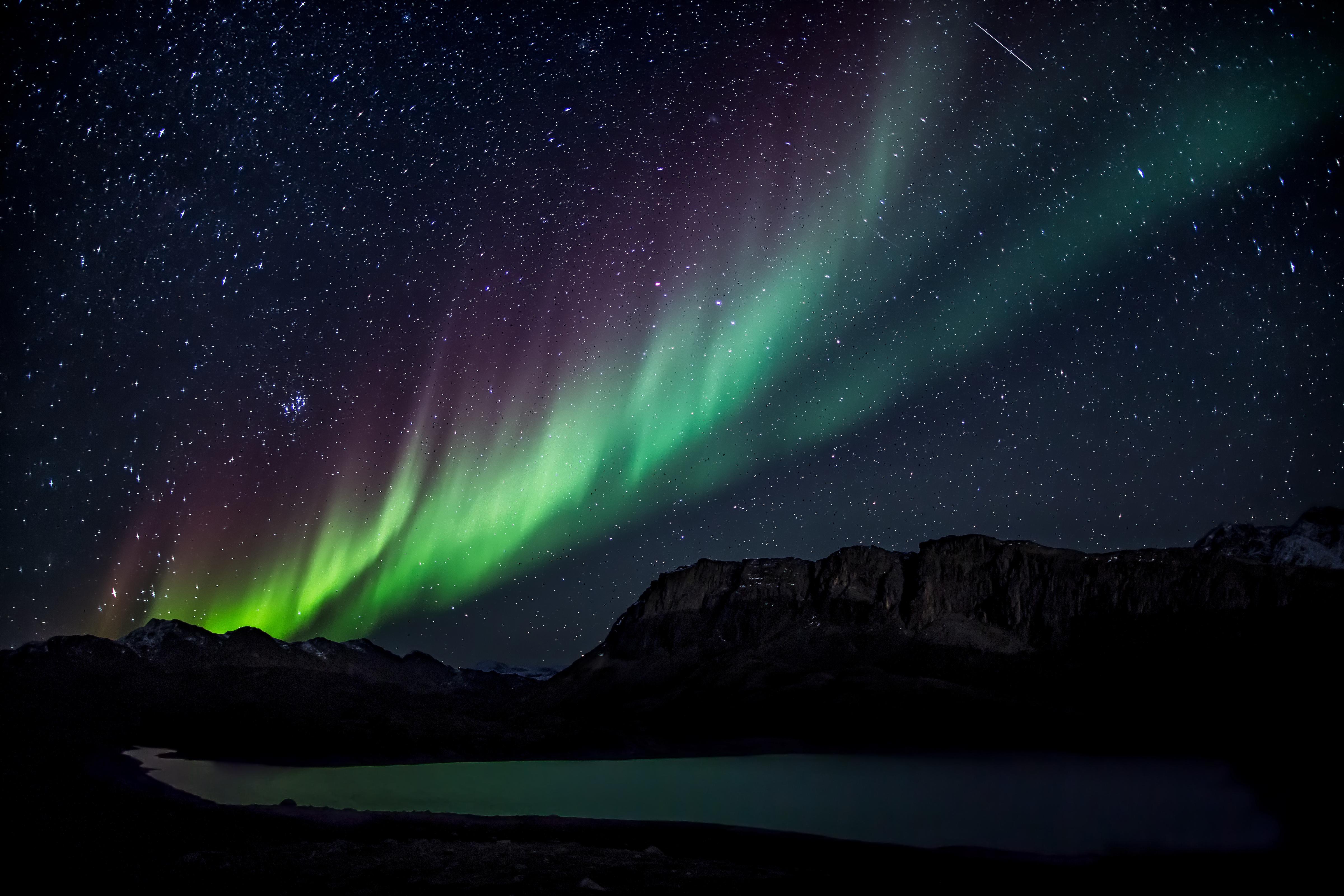 Aurora boreale 4k ultra hd wallpaper sfondi 4800x3200 for Sfondi aurora boreale