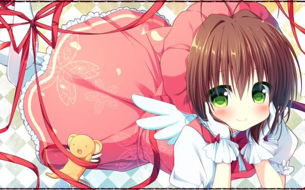 Anime Cardcaptor Sakura Sakura Kinomoto Keroberos HD Wallpaper | Background Image