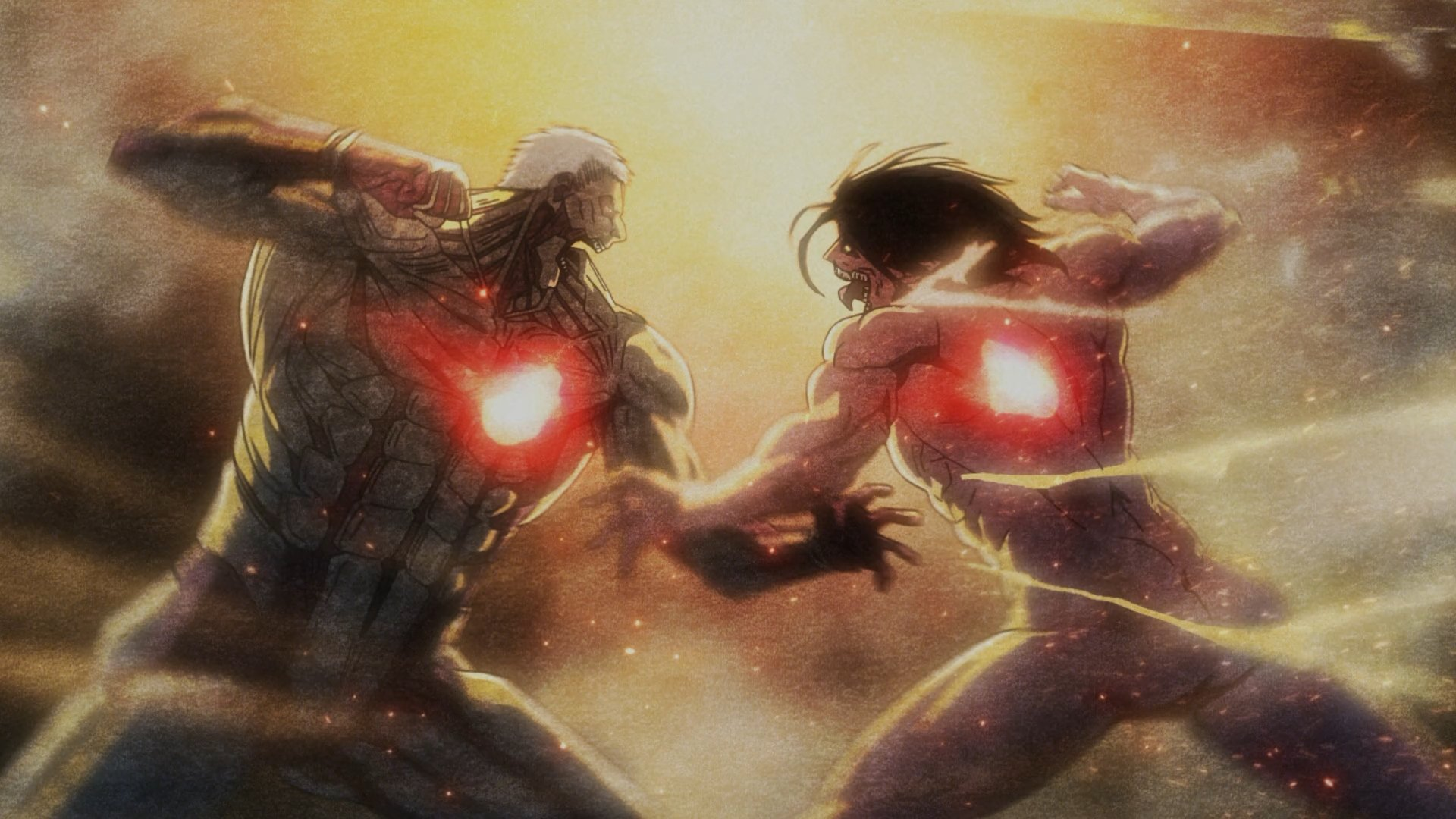 Vs The Armored Titan Hd Wallpaper Background Image 1920x1080 Id 818108 Wallpaper Abyss