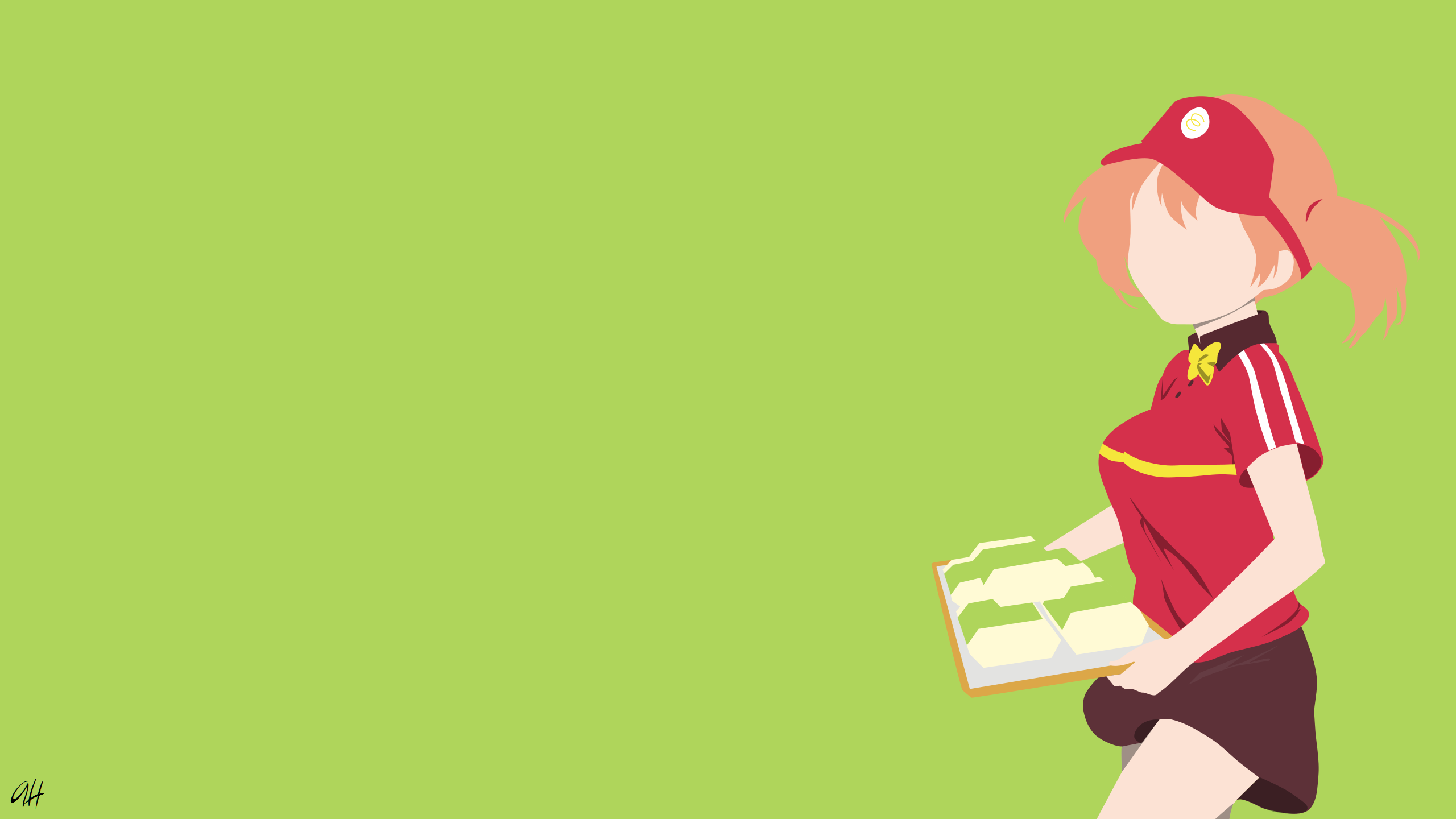 Sasaki Chiho The Devil Is A Part Timer Hd Wallpaper Background
