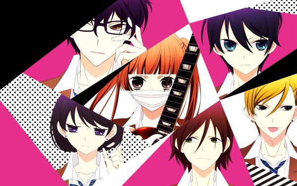Anime Fukumenkei Noise Nino Arisugawa Kanade Yuzuriha Momo Sakaki Ayumi Kurose Yoshito Haruno Miou Suguri HD Wallpaper | Background Image