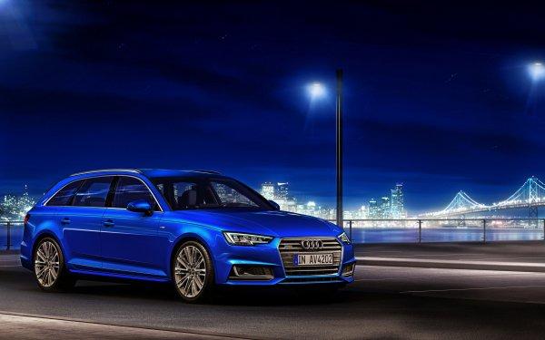 Fahrzeuge Audi A4 Audi Blue Car Autos Luxury Car HD Wallpaper | Hintergrund
