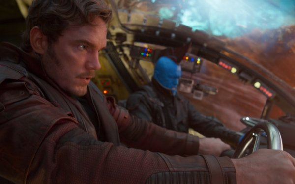 Movie Guardians of the Galaxy Vol. 2 Chris Pratt Star Lord Michael Rooker Yondu Udonta HD Wallpaper | Background Image