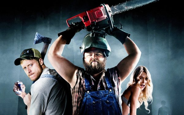 Movie Tucker & Dale vs. Evil Tyler Labine Katrina Bowden Alan Tudyk HD Wallpaper | Background Image