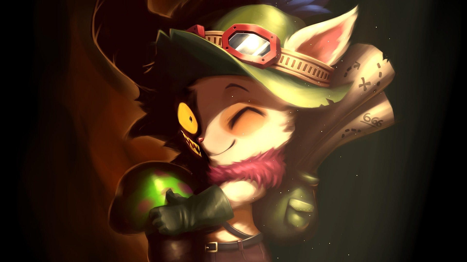 Teemo devil Full HD Wallpaper and Background | 1920x1080 ...