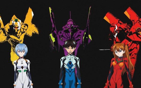 Anime Neon Genesis Evangelion Evangelion Asuka Langley Sohryu Rei Ayanami Shinji Ikari Fondo de pantalla HD | Fondo de Escritorio