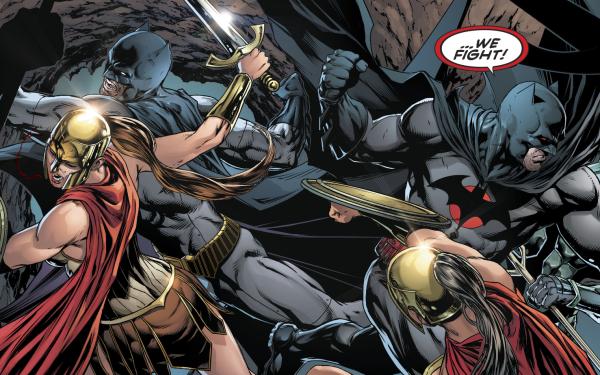 Comics Batman Flashpoint Thomas Wayne HD Wallpaper | Background Image