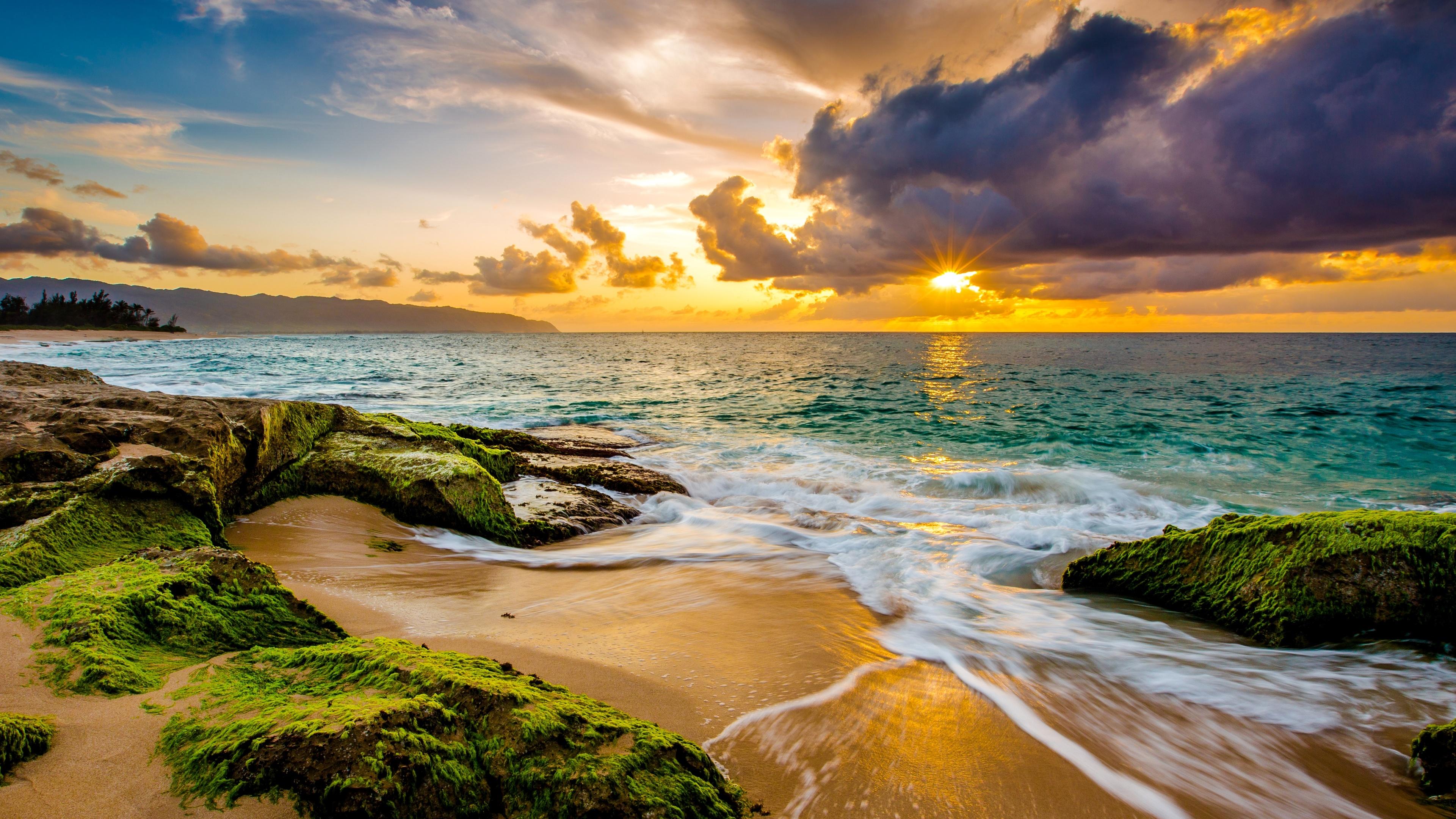 природа море берег небо горизонт  № 3776990 бесплатно