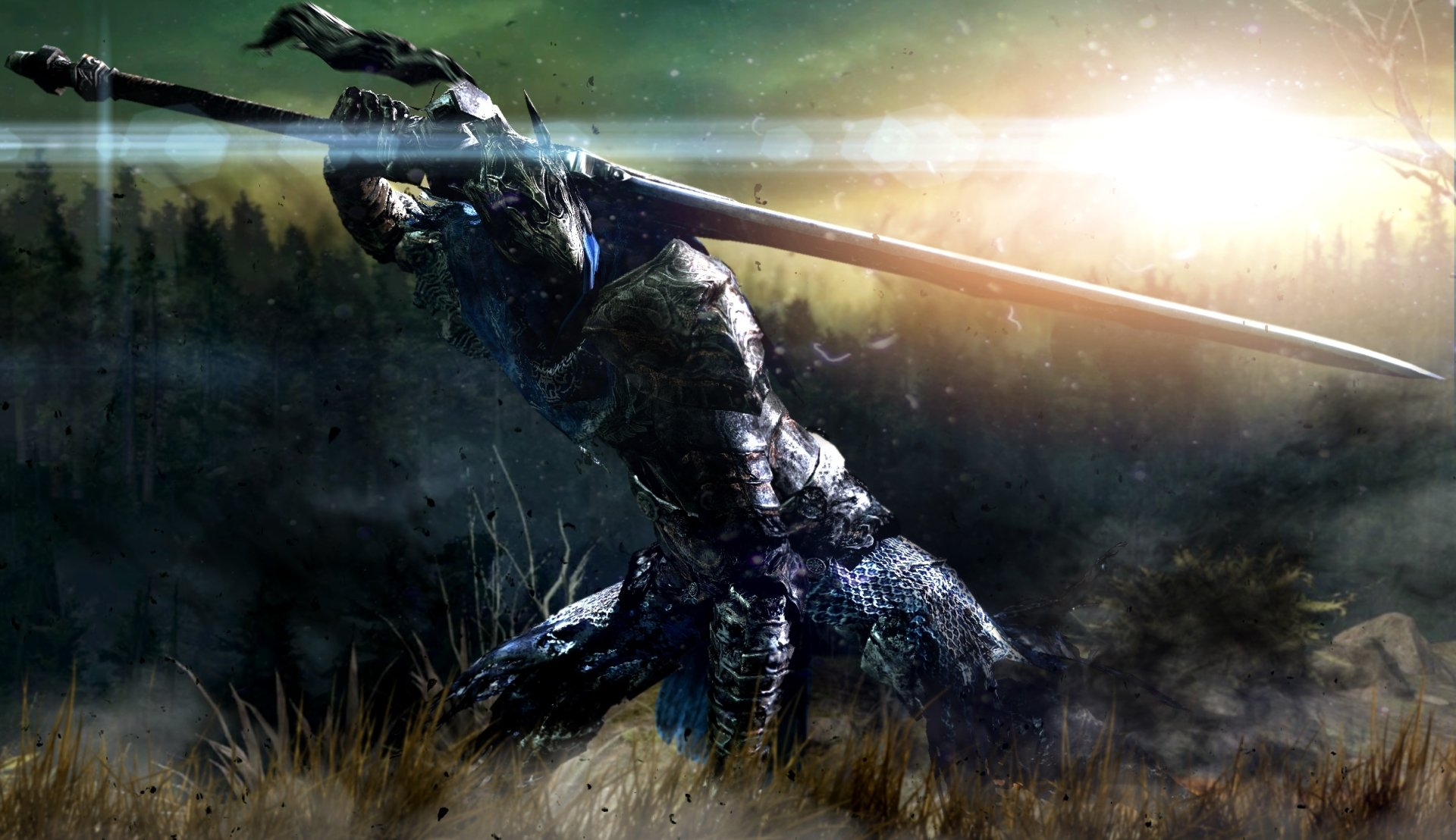 Video Game - Dark Souls  Artorias (Dark Souls) Sword Warrior Armor Wallpaper