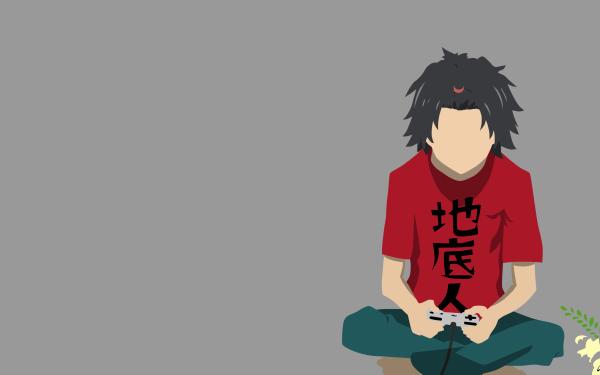 Anime Anohana Jinta Yadomi Minimalist HD Wallpaper | Background Image