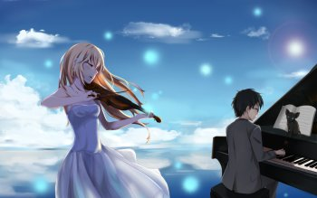59 4k Ultra Hd Your Lie In April Wallpapers Background Images Wallpaper Abyss