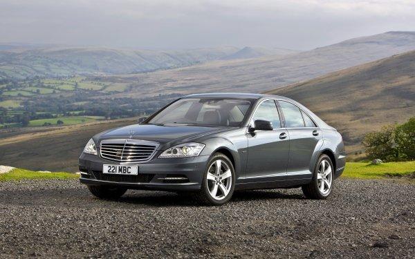 Véhicules Mercedes-Benz S-Class Mercedes-Benz Voiture Silver Car Luxury Car Fond d'écran HD | Image