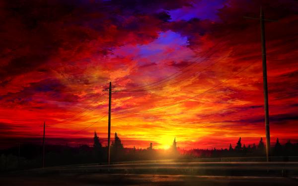 Anime Original Fondo de pantalla HD | Fondo de Escritorio