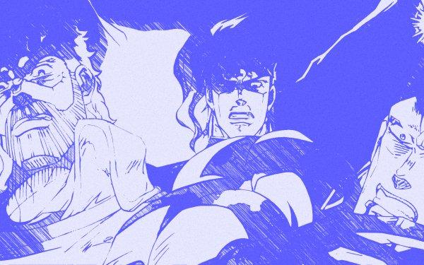 Anime Jojo's Bizarre Adventure Joseph Joestar Jean Pierre Polnareff Noriaki Kakyoin HD Wallpaper | Background Image