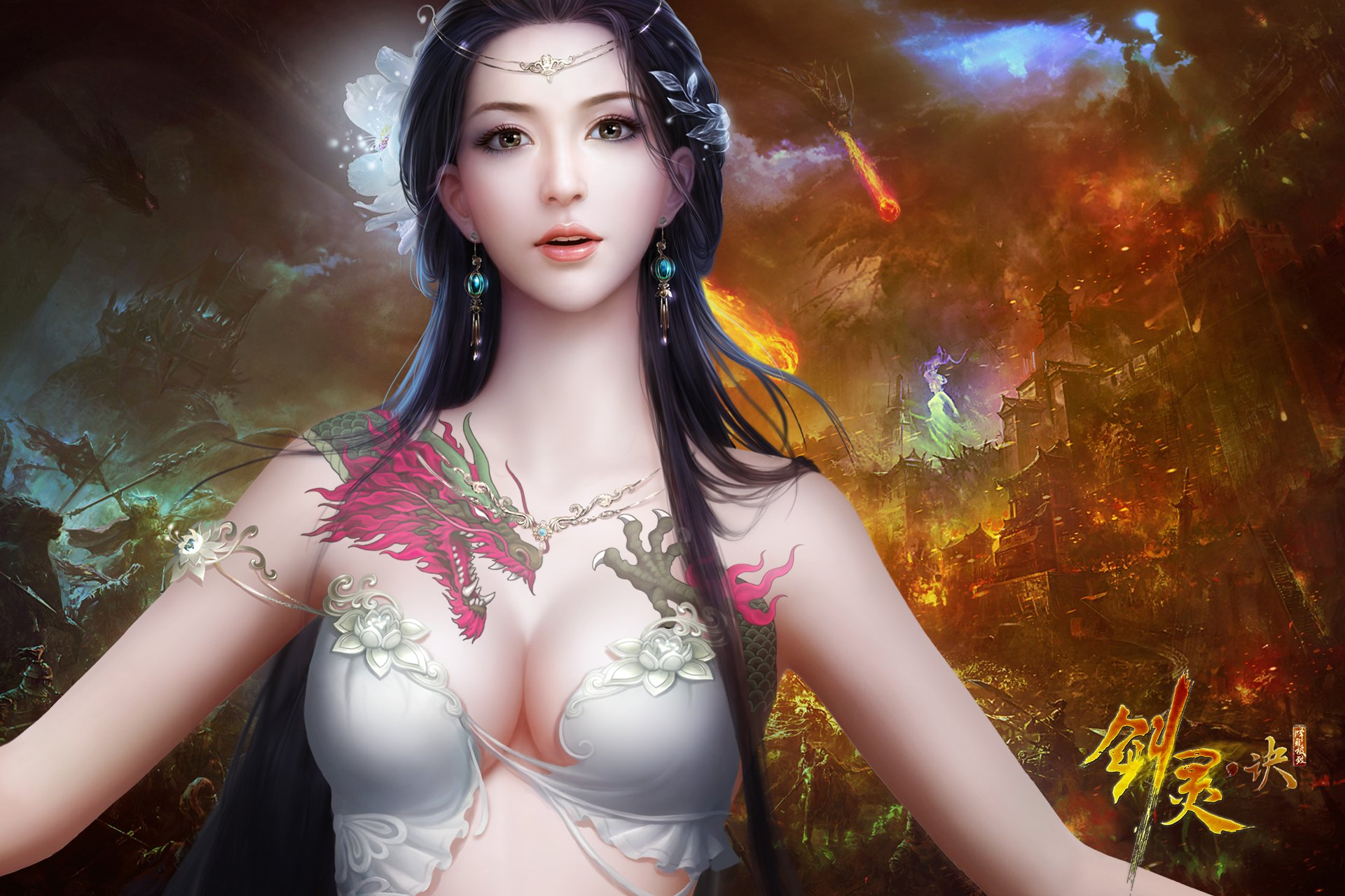 Fantasy Art Women Model Wallpapers Hd Desktop And: Fantasy Girl HD Wallpaper