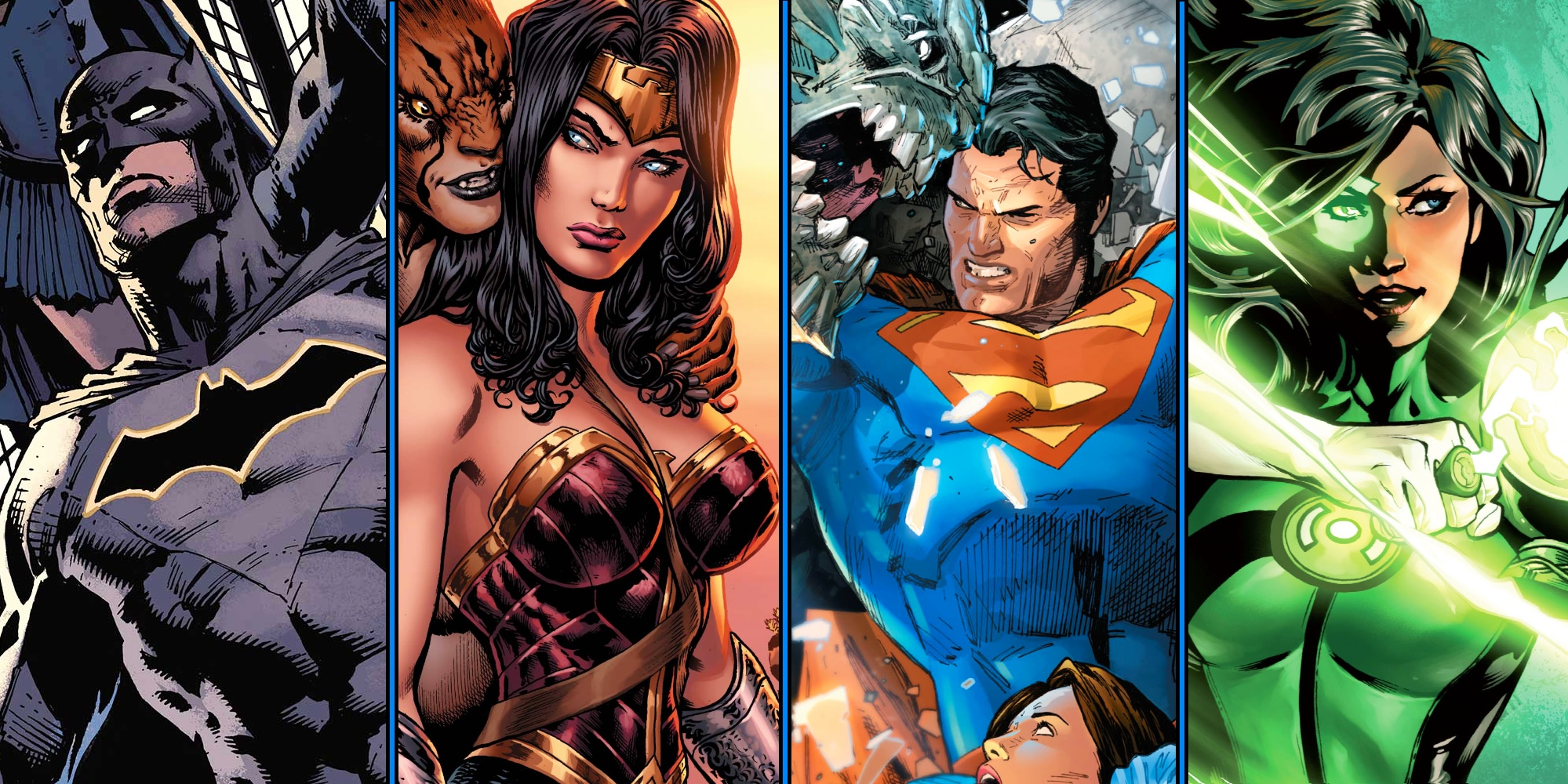 DC Rebirth Wallpaper and Background Image | 1999x1000 | ID ...