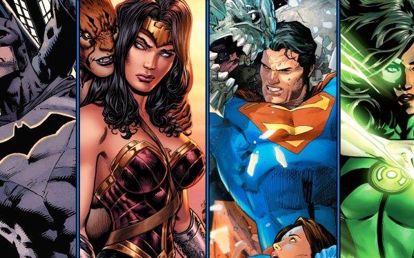 Comics DC Comics Batman Superman Wonder Woman Green Lantern Jessica Cruz Cheetah Doomsday HD Wallpaper | Background Image