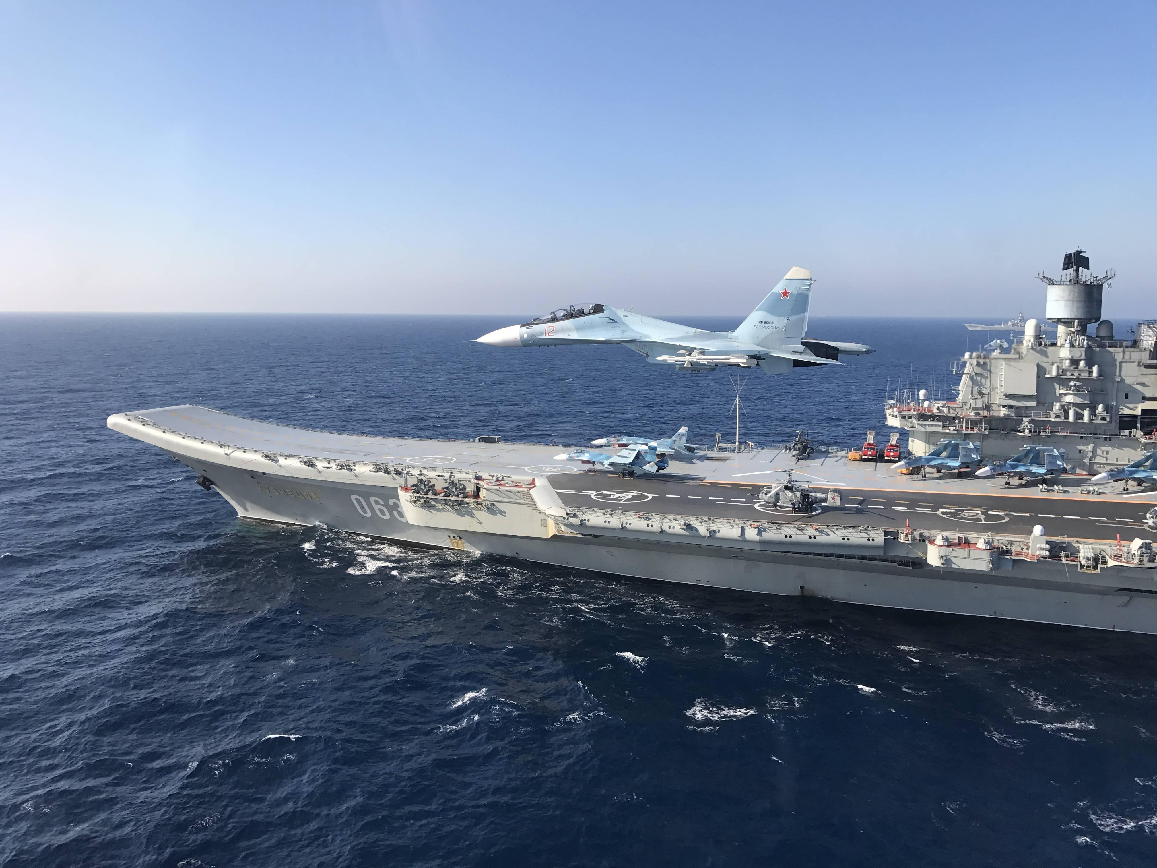 Russian aircraft carrier admiral kuznetsov 4k ultra hd wallpaper background image 4032x3024 - 4k wallpaper russia ...