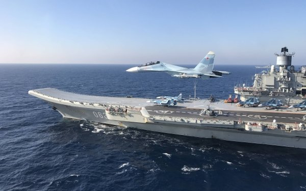Military Russian aircraft carrier Admiral Kuznetsov Warships Russian Navy Jet Fighter Warship Aircraft Carrier HD Wallpaper | Background Image