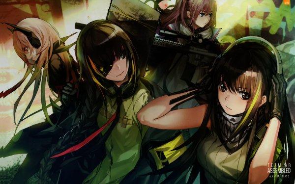 Video Game Girls Frontline M4 Sopmod II M16a1 AR15 M4A1 HD Wallpaper   Background Image