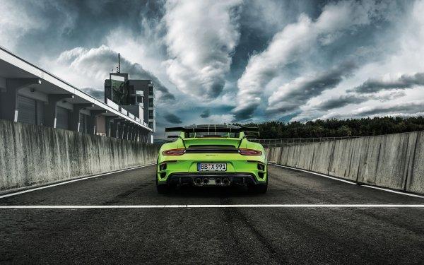 Vehicles Porsche 911 Turbo Porsche Porsche 911 Porsche 911 Turbo S GTStreet R Supercar Car HD Wallpaper | Background Image
