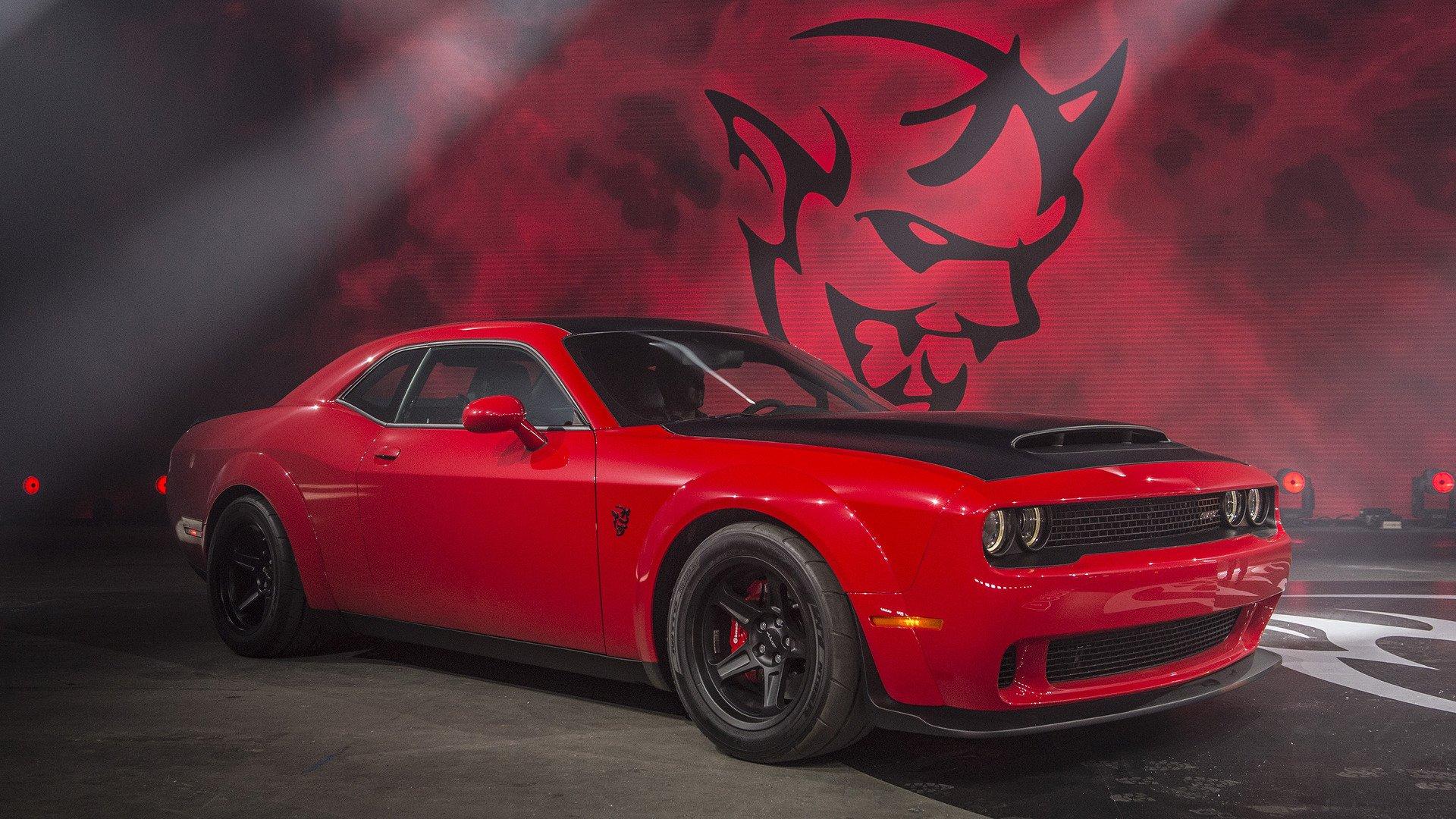 Dodge Challenger Srt Demon Hd Wallpaper Background Image